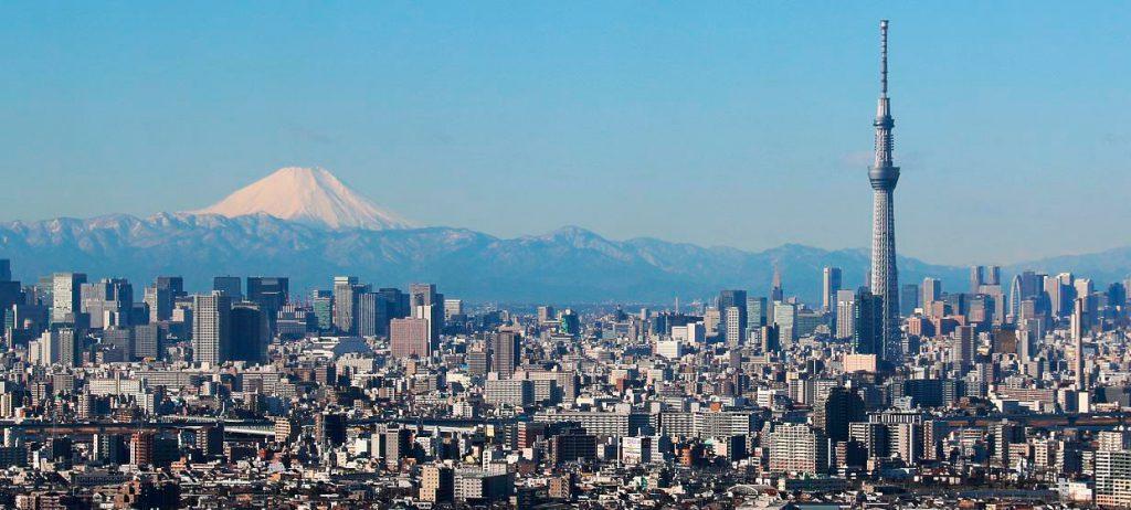 Вид Японии