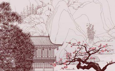 Японская живопись -1
