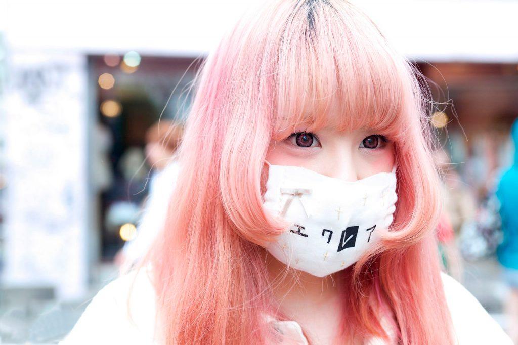 медицинские маски в японии