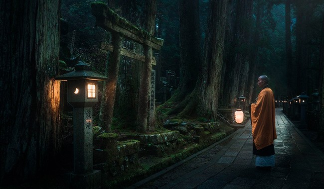 Гора Коя-сан Япония - знаменита монастырями и храмами